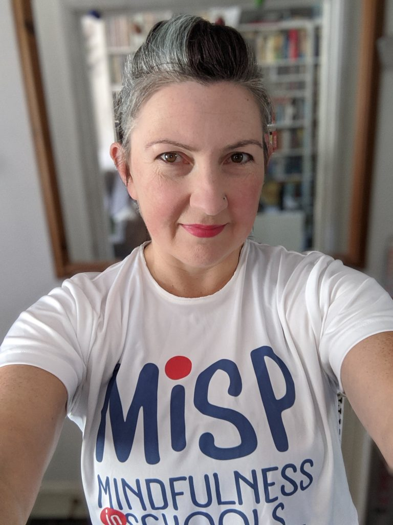 Lucy in MiSP t-shirt
